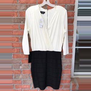 Bebe Black & white dress